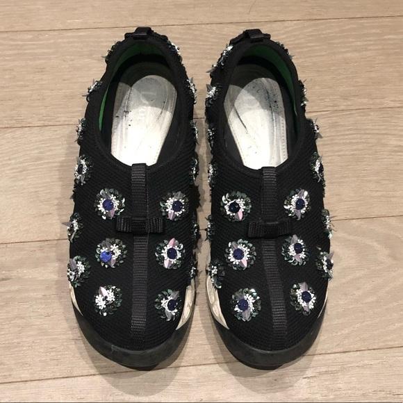 Mesh Embellished Fusion Sneakers | Poshmark